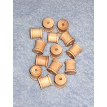 "Wood - Spool - 1_2"" x 1_2"" Pkg_14"