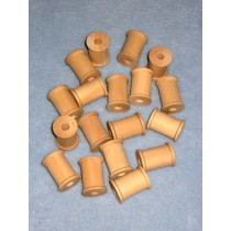 "Wood - Spool - 1 3_16""x 7_8"" Pkg_18"