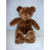 "|10"" Plush Sitting Brown Bear"