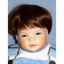 "|11-12"" Baby Wig - Brown"