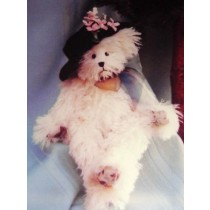 "|12"" Edith Bear Pattern"