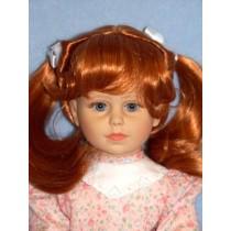 "|14-15"" Carrot Red Joycee Wig"