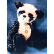 " 17"" Uncle Ping Panda Bear Pattern"