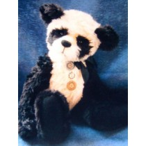 "|17"" Uncle Ping Panda Bear Pattern"