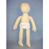 "|18"" Bendable Muslin Doll"