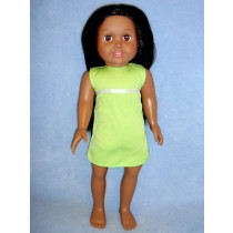 "|18"" Tan Springfield Doll w_Black Hair"