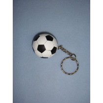 "|1 1_2"" Soccer Ball Keychain"