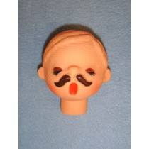 "|2 1_2"" Male Caroler Head"