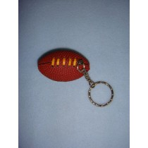 "|2 1_4"" Football Keychain"
