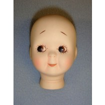 "|2 7_8"" Porcelain Googly Head"