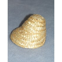 "|3 1_2"" Straw Bonnet - Natural"
