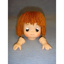 "|3 3_4"" Arabelle Yarn Head"