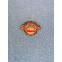 "|3_4"" Mini Monkey Faces - Pkg_12"