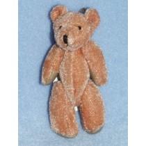 "|3"" Brown Plush Bear"