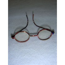 "|3"" Rainbow Wire Framed Glasses"