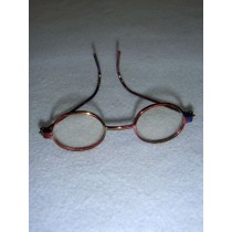 "|Glasses - 3"" Rainbow Wire"