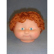 "|4 1_2"" Head - Teeter Tot Boy w_Brown Hair & Crystal Eyes"