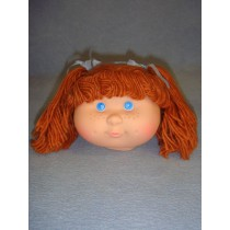 "|4 1_2"" Head - Teeter Tot Girl w_Brown Hair"