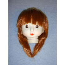"|4 1_2"" Porcelain-Look Holly Head w_Brown Hair"