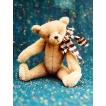 "|4"" Cocoa Bear Pattern"