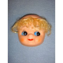 "|4"" Cookie Face w_Blond Hair"