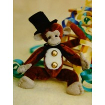 "|4"" Quimby Monkey Pattern"