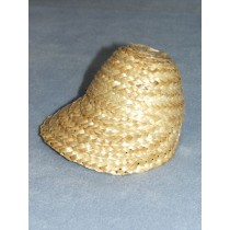 "|4"" Straw Bonnet - Natural"