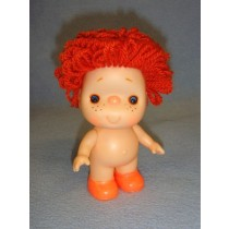 "|5 1_2"" Beezy Doll w_Red Yarn Hair"