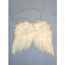 "|5"" Feather Angel Wings"