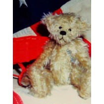 "|7"" Armand Vintage Bear Pattern"