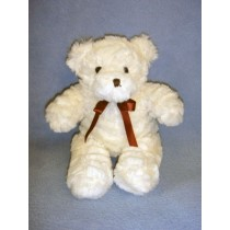 "|8"" Plush Sitting Cream Bear"