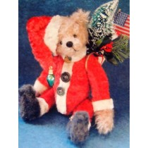 "|9"" Nicky Holiday Bear Pattern"