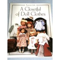  A Closetful of Doll Clothes Book