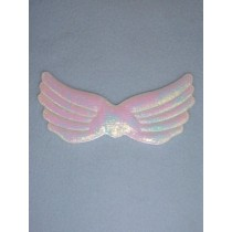 "|Angel Wings - 3 3_4"" White Pearl"