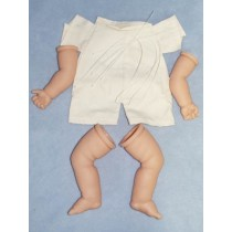 "|Baby Body Pack - Painted Translucent - 22"" Doll"