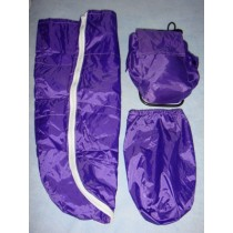 |Backpack & Sleeping Bag - Purple