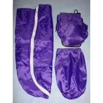 |Backpack & Sleeping Bag - Purple