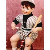 " Baseball Suit -19"" Green_Gray"
