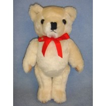 """ Bear - 12"""" Jointed - Beige"""
