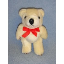 """ Bear - Jointed - 5"""" Beige Plush"""