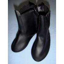 "|Boot - Santa - 5 1_4"" Black"
