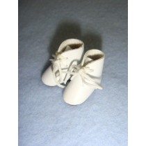 "|Boot - Tie - 7_8"" White"