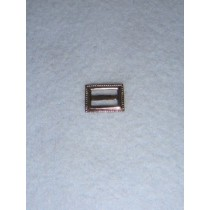 |Buckle - Decorative Rectangular Silver