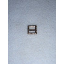 |Buckle - Decorative Square Silver