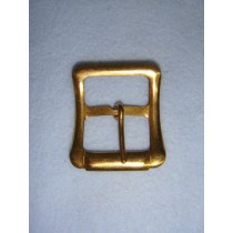 |Buckle - Large Plain Gilt