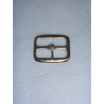 |Buckle - Plain Rectangle Nickel