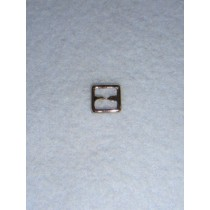 |Buckle - Plain Square Silver