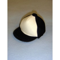 "|Cloth Cap - 3 3_4"" Assorted"
