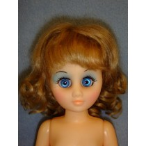 "|Collette Wig 6-7"" Light Brown Mohair"