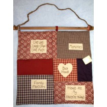 |Country Patchwork Collection: Betsy's Wall Hanging